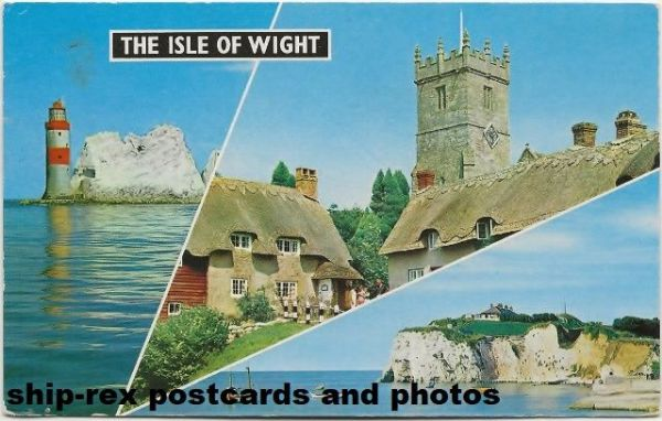 Isle Of Wight, multi-view postcard (c)